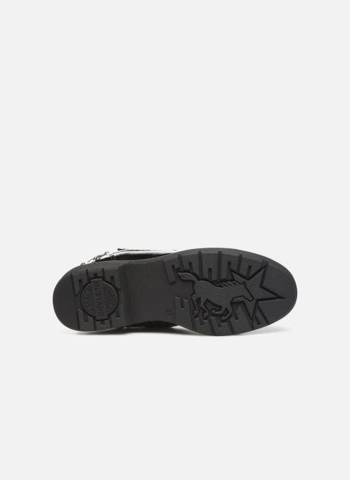Bottines et boots Mustang shoes 5047606 Noir vue haut