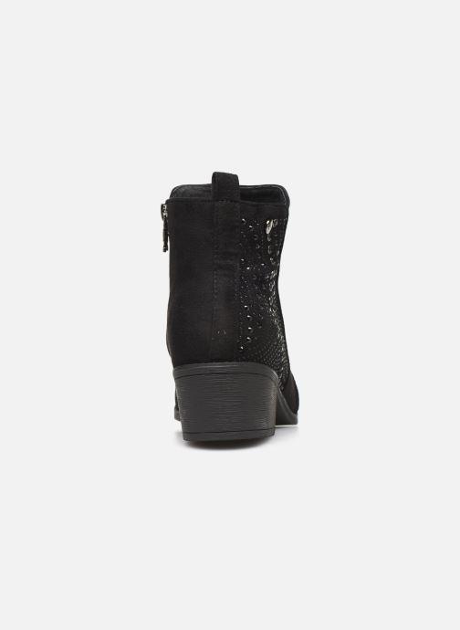 Bottines et boots Xti 48606 Noir vue droite