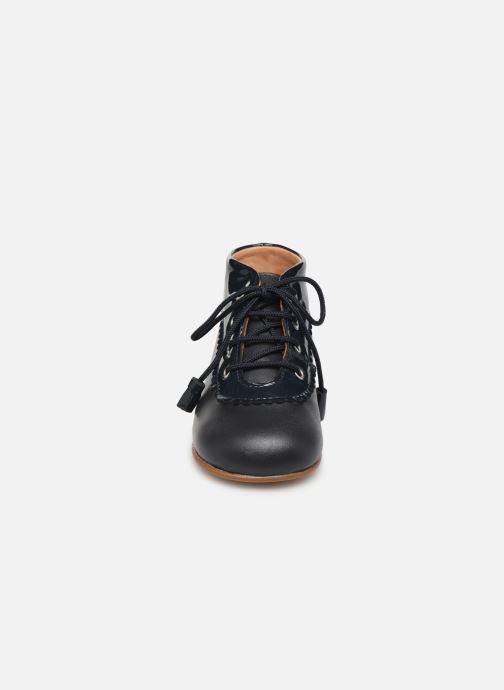 Bottines et boots Cendry Eugenie Bleu vue portées chaussures
