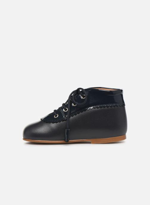 Bottines et boots Cendry Eugenie Bleu vue face