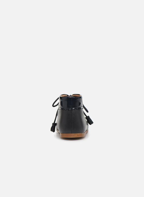 Bottines et boots Cendry Eugenie Bleu vue droite