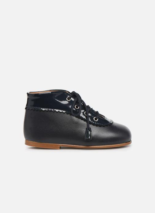 Bottines et boots Cendry Eugenie Bleu vue derrière