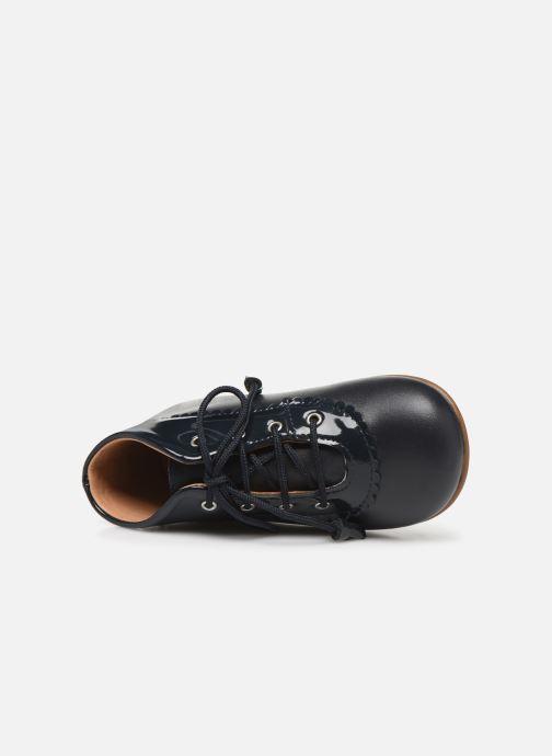 Bottines et boots Cendry Eugenie Bleu vue gauche
