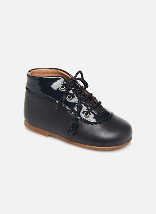 Bottines et boots Cendry Eugenie Bleu vue détail/paire