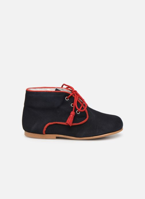 Ankle boots Cendry Leo Blue back view
