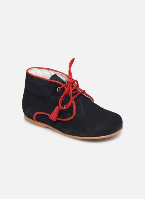 Boots en enkellaarsjes Cendry Leo Blauw detail