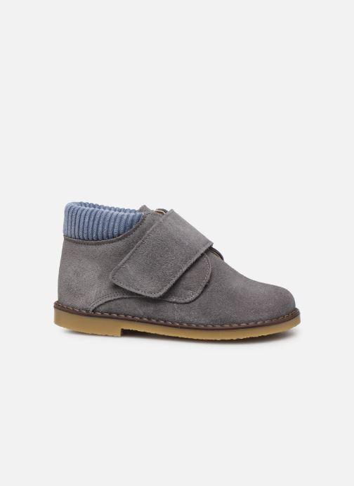 Chaussures à scratch Cendry Joseph Gris vue derrière
