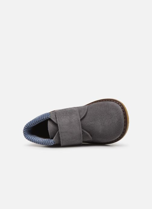 Velcro shoes Cendry Joseph Grey view from the left