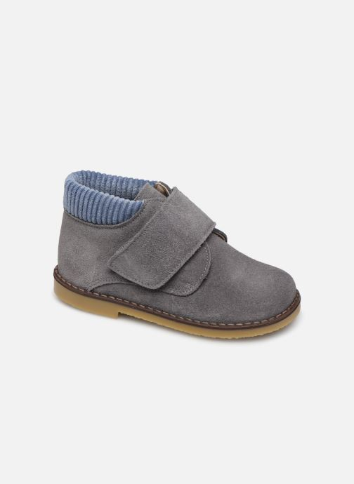 Velcro shoes Cendry Joseph Grey detailed view/ Pair view
