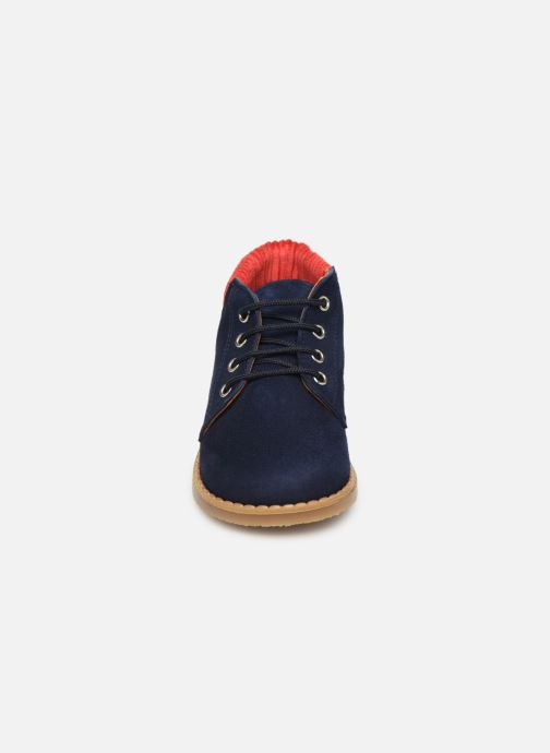 Bottines et boots Cendry Gabriel Bleu vue portées chaussures