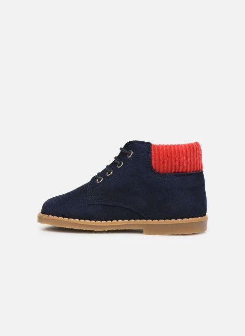 Bottines et boots Cendry Gabriel Bleu vue face
