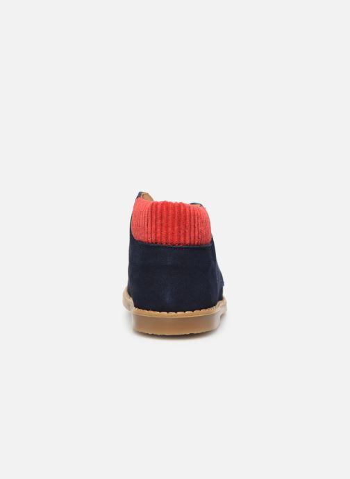 Bottines et boots Cendry Gabriel Bleu vue droite