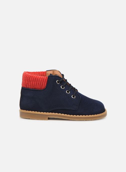 Bottines et boots Cendry Gabriel Bleu vue derrière