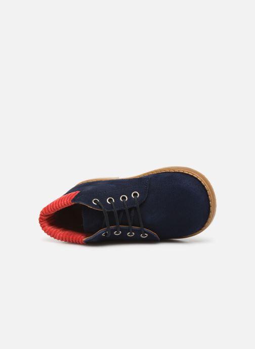 Bottines et boots Cendry Gabriel Bleu vue gauche