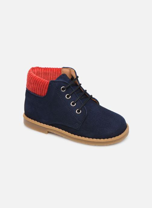 Bottines et boots Cendry Gabriel Bleu vue détail/paire
