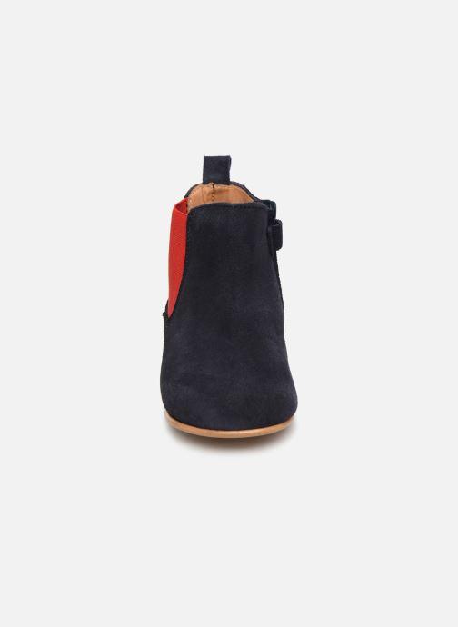 Bottines et boots Cendry Axel Bleu vue portées chaussures