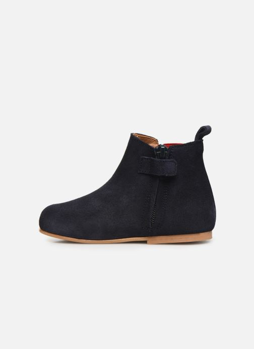 Bottines et boots Cendry Axel Bleu vue face