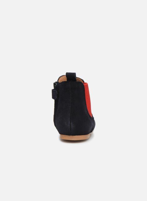 Bottines et boots Cendry Axel Bleu vue droite