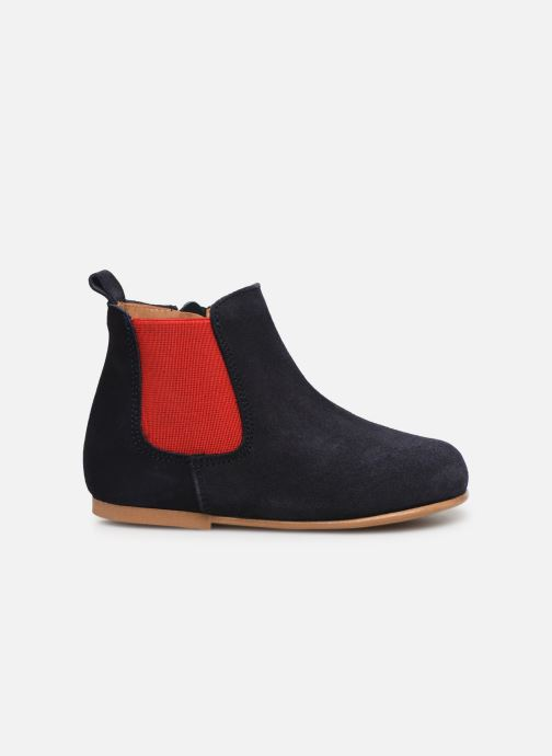 Ankle boots Cendry Axel Blue back view
