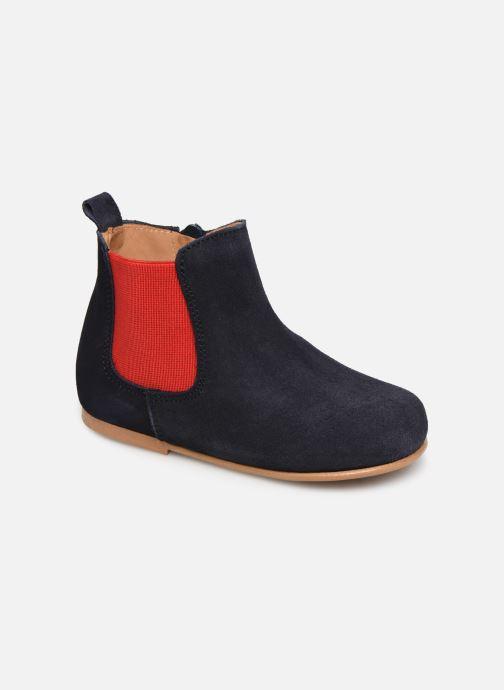Bottines et boots Cendry Axel Bleu vue détail/paire