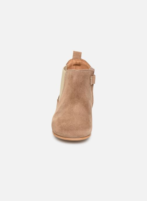 Ankle boots Cendry Axel Brown model view