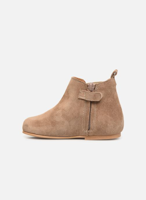 Ankle boots Cendry Axel Brown front view