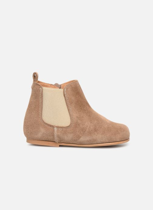 Ankle boots Cendry Axel Brown back view