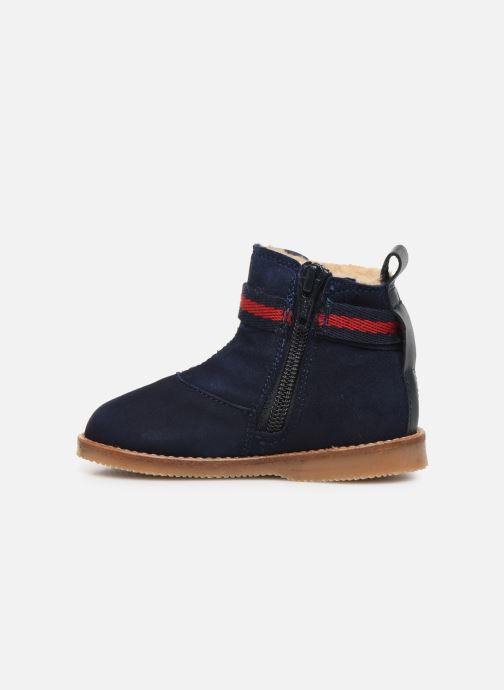 Bottines et boots Cendry Morgane Bleu vue face