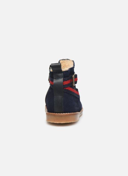 Bottines et boots Cendry Morgane Bleu vue droite
