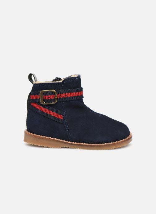 Bottines et boots Cendry Morgane Bleu vue derrière