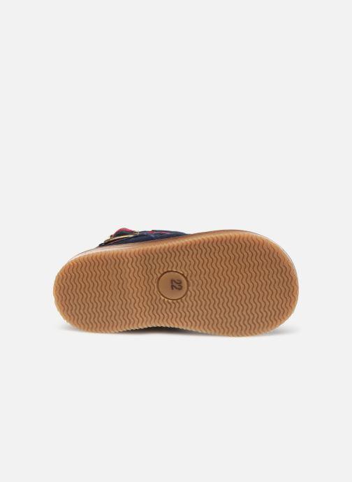 Stiefeletten & Boots Cendry Morgane blau ansicht von oben