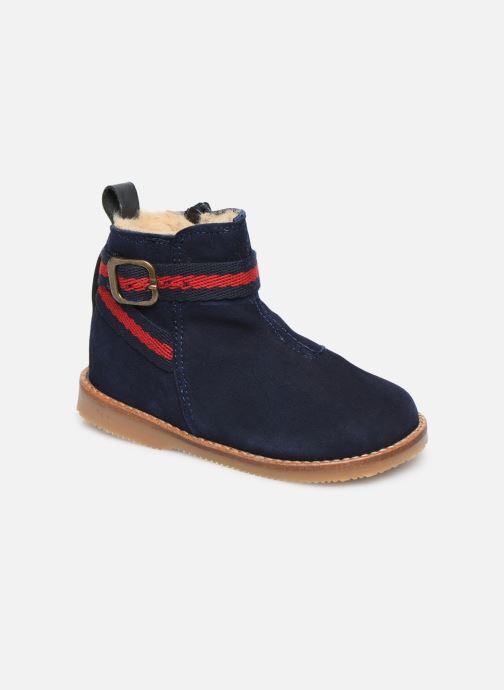 Bottines et boots Cendry Morgane Bleu vue détail/paire