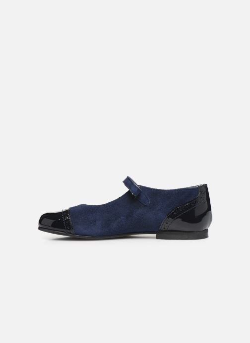Ballet pumps Cendry Clemence Blue front view