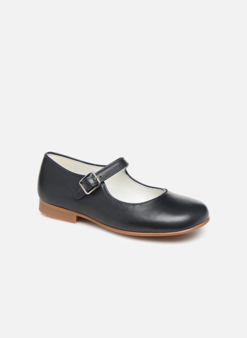 Ballet pumps Cendry Charlotte Blue detailed view/ Pair view