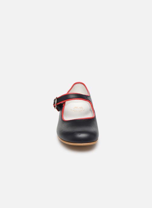 Ballerines Cendry Charlotte Bleu vue portées chaussures