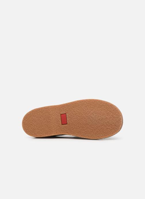 Chaussures à scratch Cendry Louison Bleu vue haut