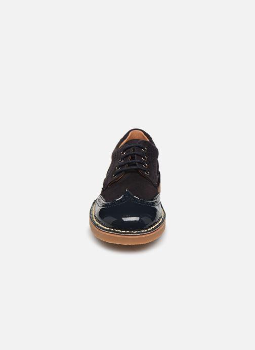 Chaussures à lacets Cendry Louis Bleu vue portées chaussures