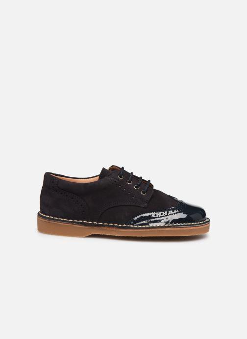 Chaussures à lacets Cendry Louis Bleu vue derrière