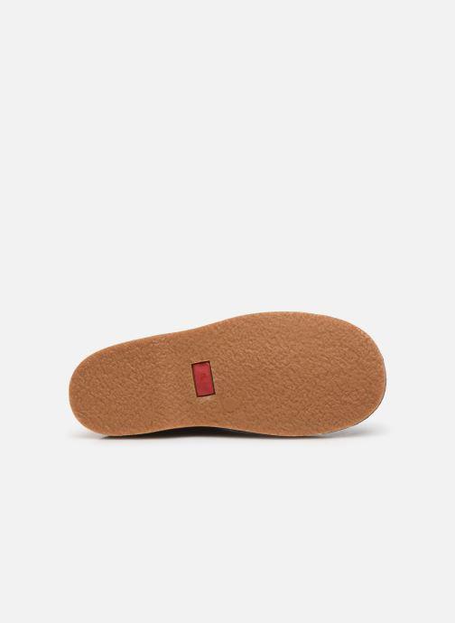 Chaussures à lacets Cendry Louis Bleu vue haut