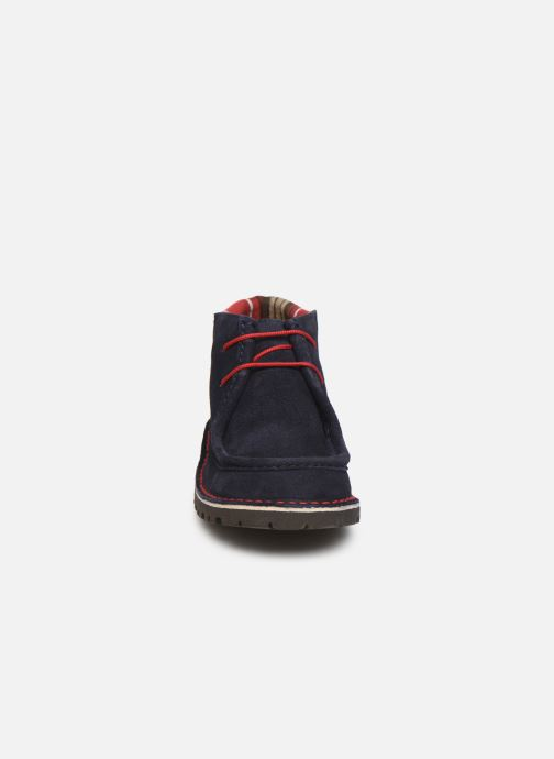 Lace-up shoes Cendry Anatole Blue model view