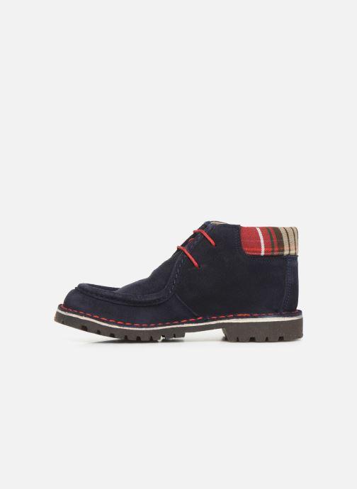 Zapatos con cordones Cendry Anatole Azul vista de frente