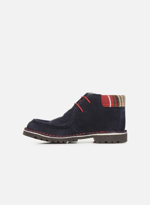 Lace-up shoes Cendry Anatole Blue front view