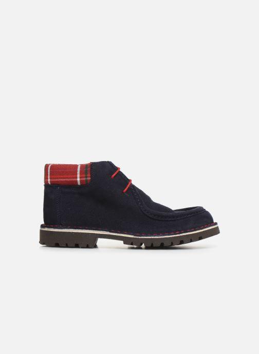 Zapatos con cordones Cendry Anatole Azul vistra trasera