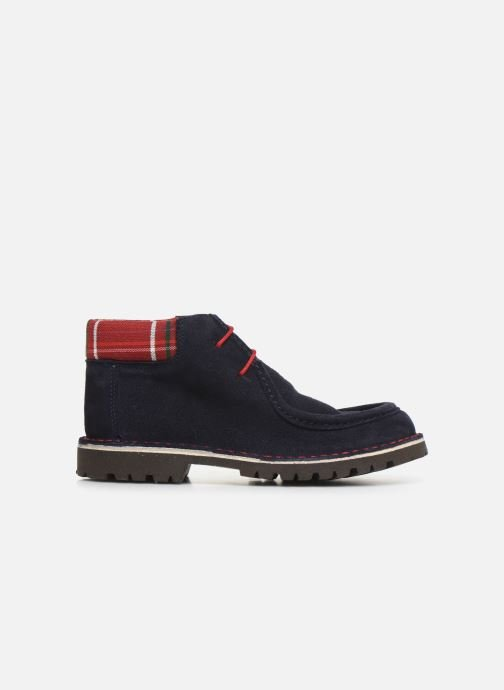 Lace-up shoes Cendry Anatole Blue back view