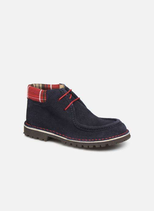 Lace-up shoes Cendry Anatole Blue detailed view/ Pair view