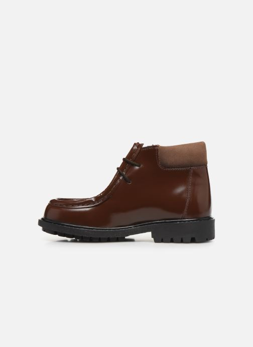 Zapatos con cordones Cendry Anatole Marrón vista de frente