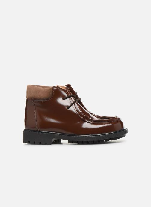 Zapatos con cordones Cendry Anatole Marrón vistra trasera