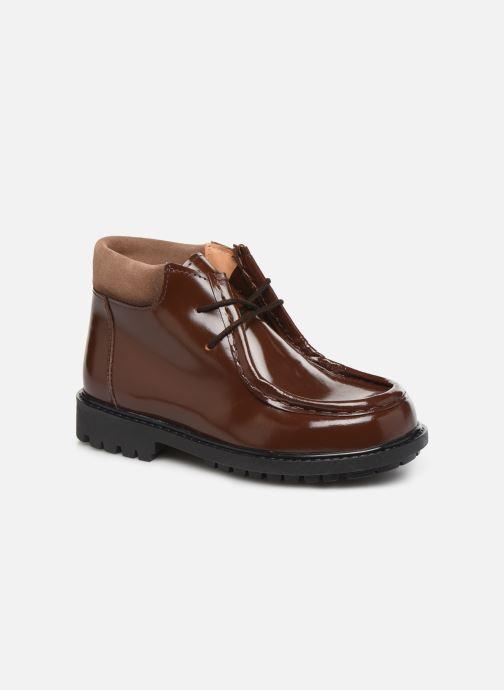 Zapatos con cordones Cendry Anatole Marrón vista de detalle / par