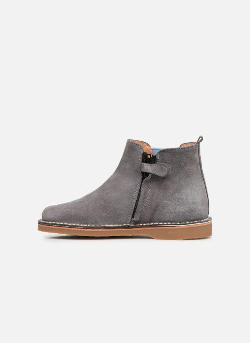 Bottines et boots Cendry Charlie Gris vue face
