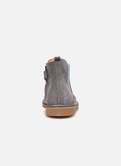 Bottines et boots Cendry Charlie Gris vue droite